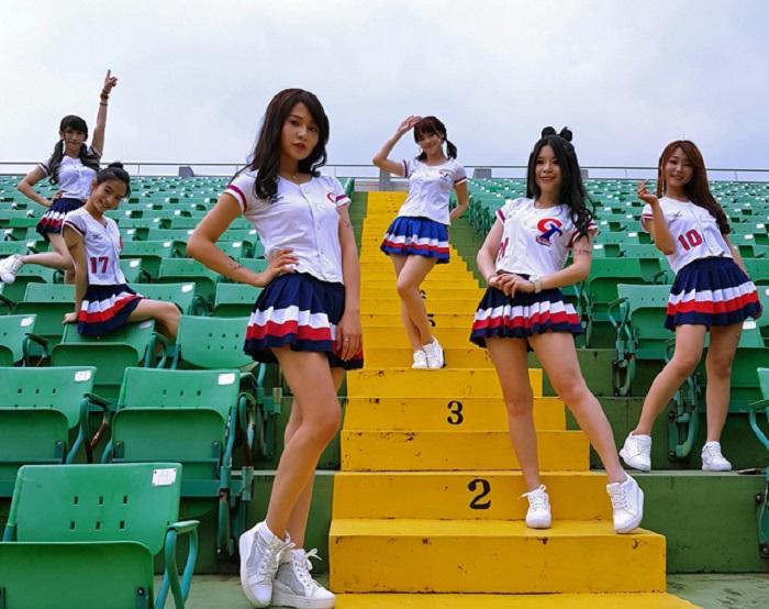 台湾代表専属チアガール CT Girls
